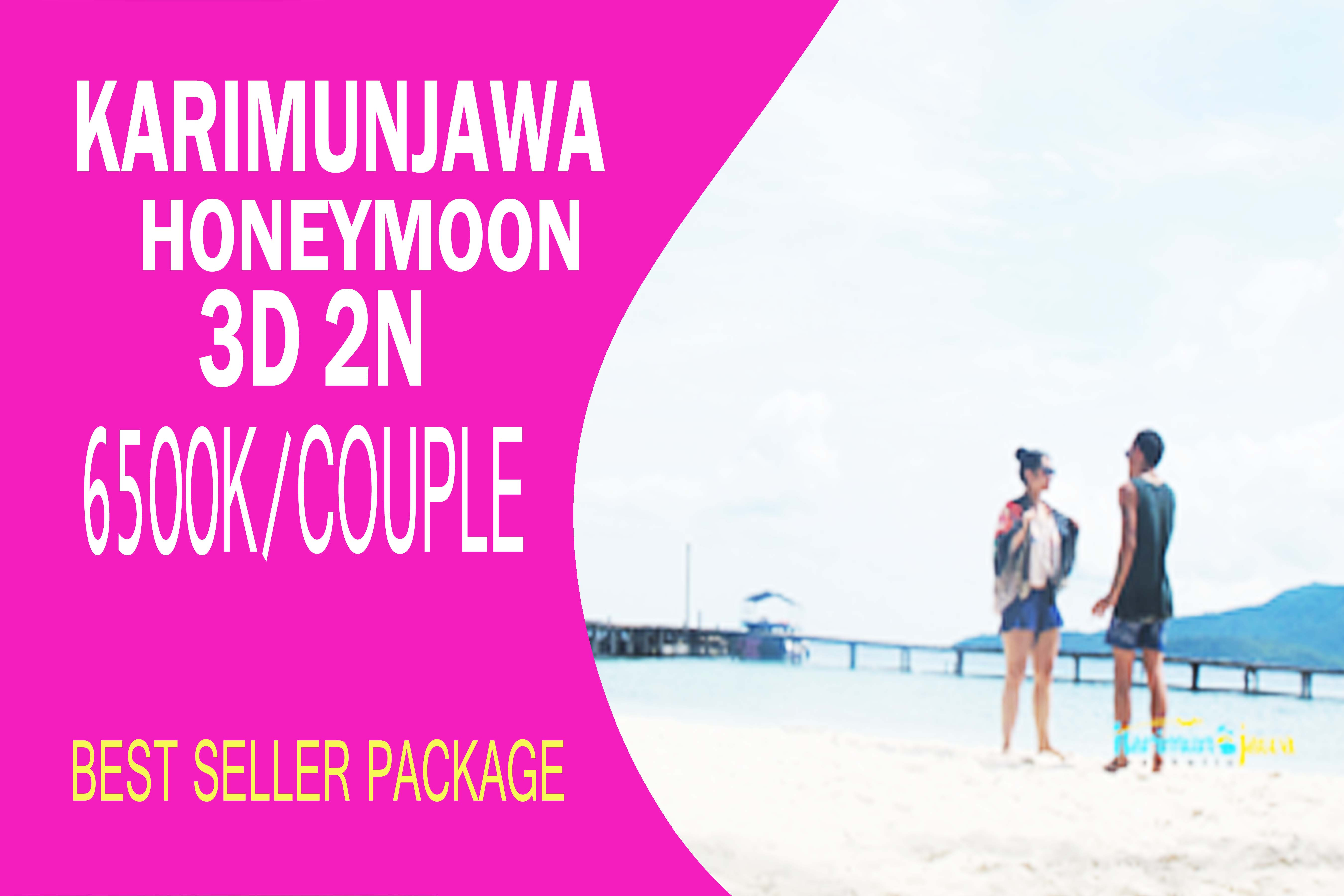 PAKET HONEYMOON KARIMUNJAWA BEST SELLER